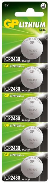 Baterie buton litiu GP 3V 24.5X3 5buc/blister 0