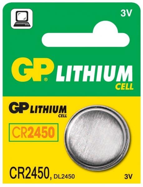 Baterie buton litiu GP 3V 24.5X5 1buc/blister [0]