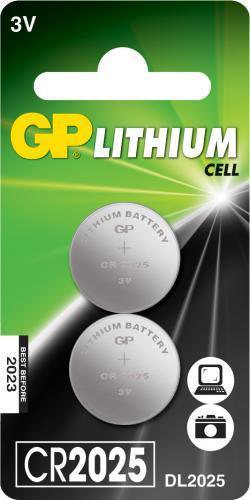 Baterie buton litiu GP 3V 2buc/blister 0