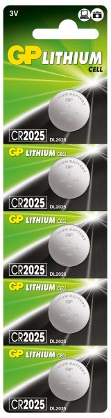 Baterie buton litiu GP 3V 5buc/blister 0