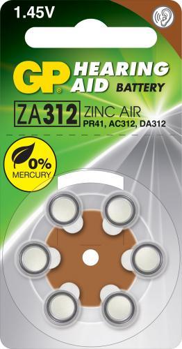 Baterie pentru aparat auditiv GP 7.9X3.6 mm 0