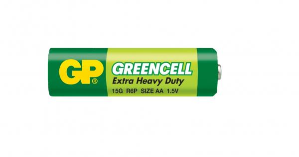 Baterie zinc carbon Greencell GP R6 (AA) infoliat [0]