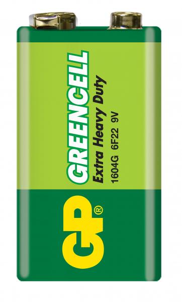 Baterie zinc Greencell GP 9V 1 buc/blister 0