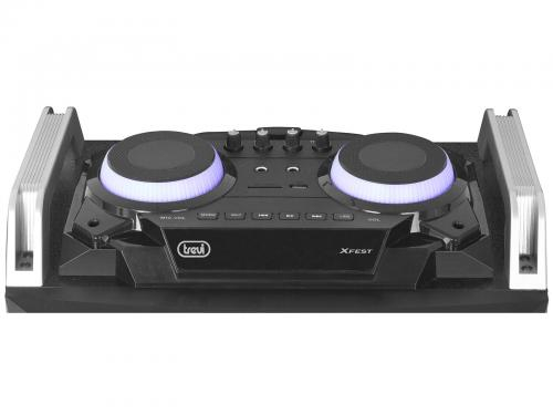 Boxa portabila cu Bluetooth, functie Karaoke, 120W Trevi 2
