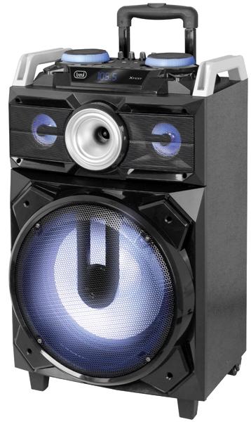 Boxa portabila cu Bluetooth, functie Karaoke, 120W Trevi 0
