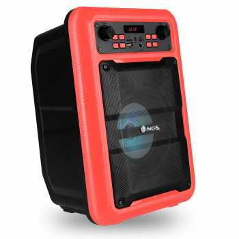 Boxa portabila cu Bluetooth rosu Roller Lingo NGS 2