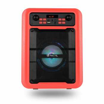 Boxa portabila cu Bluetooth rosu Roller Lingo NGS 1