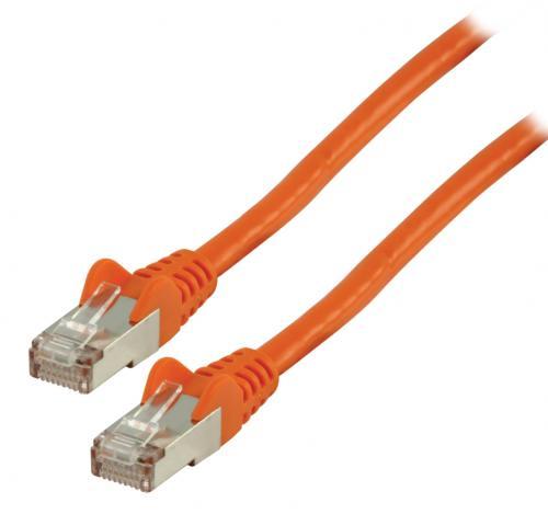 Cablu FTP Valueline, cat6, patch cord, 2m, portocaliu 0