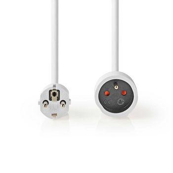 Cablu prelungitor Nedis 10m H05VV-F 3G1.5 IP20 alb 2