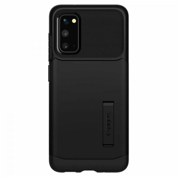 Carcasa Pentru Samsung Galaxy S20 Plus Spigen Slim Armor, Negru [2]