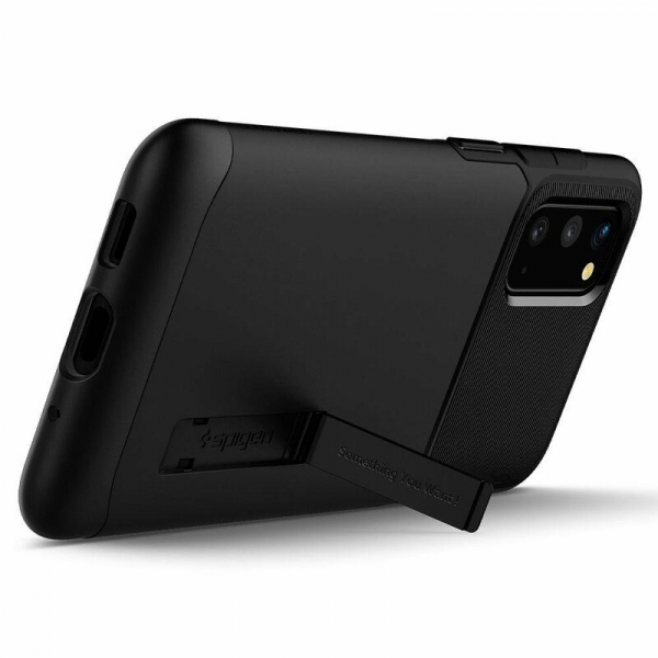 Carcasa Pentru Samsung Galaxy S20 Plus Spigen Slim Armor, Negru [1]