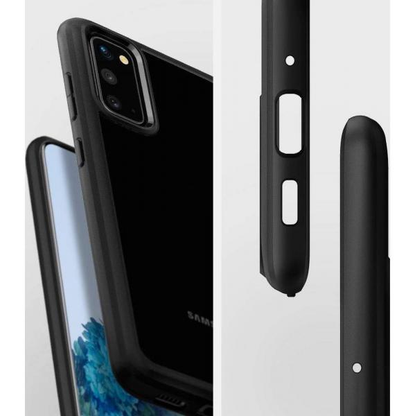 Carcasa Pentru Samsung Galaxy S20 Spigen Ultra Hybrid, Negru 3