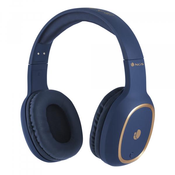 Casti Bluetooth ARTICA PRIDE albastre NGS 0