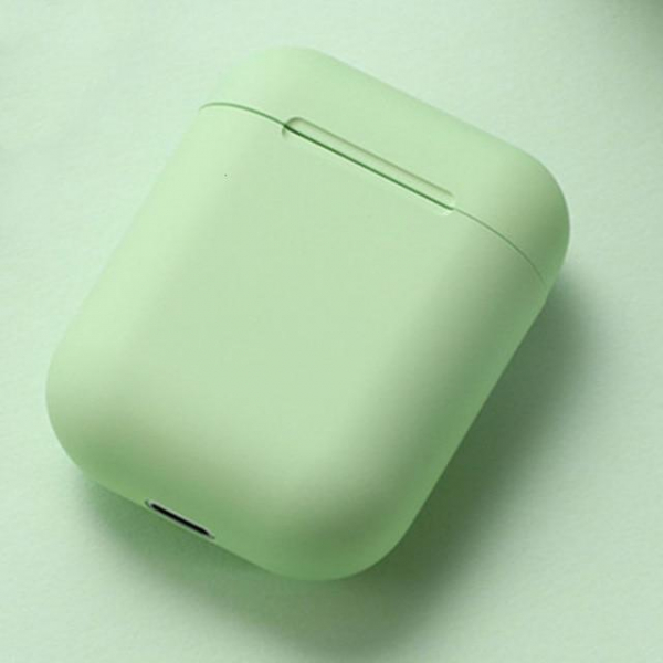 Casti Wireless Stereo inPods12 Verde Fara Fir Compatibile cu Apple si Android 1
