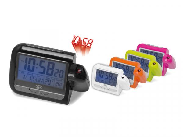 Ceas de masa cu projectie, alarma, termometru PJ 3027 Trevi 0