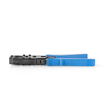 Cleste de sertizare RJ45 / RJ11 albastru Nedis [1]