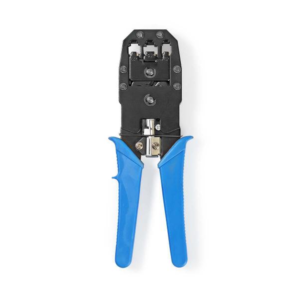 Cleste de sertizare RJ45 / RJ11 albastru Nedis [0]