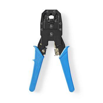 Cleste de sertizare RJ45 / RJ11 albastru Nedis [2]