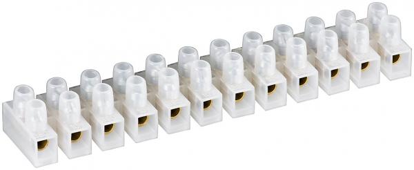 Conectori terminal alb 12 buc linie 16,0 mm² 15A 0
