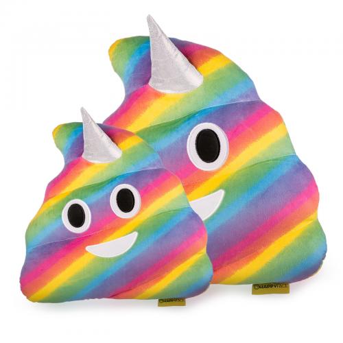 Jucarie de Plus Rahat Unicorn Curcubeu Multicolor Emoji 0