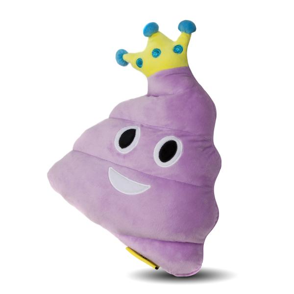 Perna decorativa Emoji Stil Printesa Roz Happy Face 1