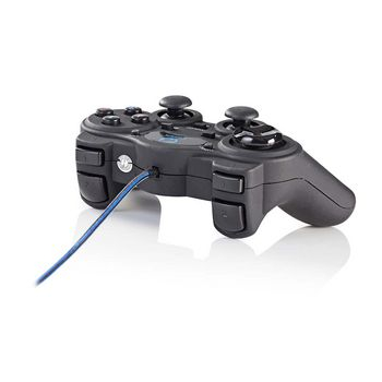 Gamepad cu fir USB, functie vibrare, 12 butoane, Nedis 4