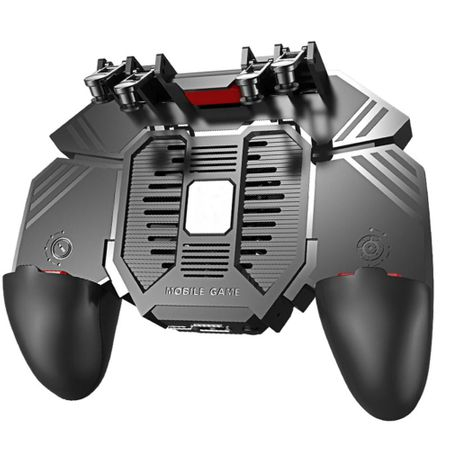 GamePad Telefon Mobil Controler Sase Degete cu Ventilator, PUBG AK-77 [1]