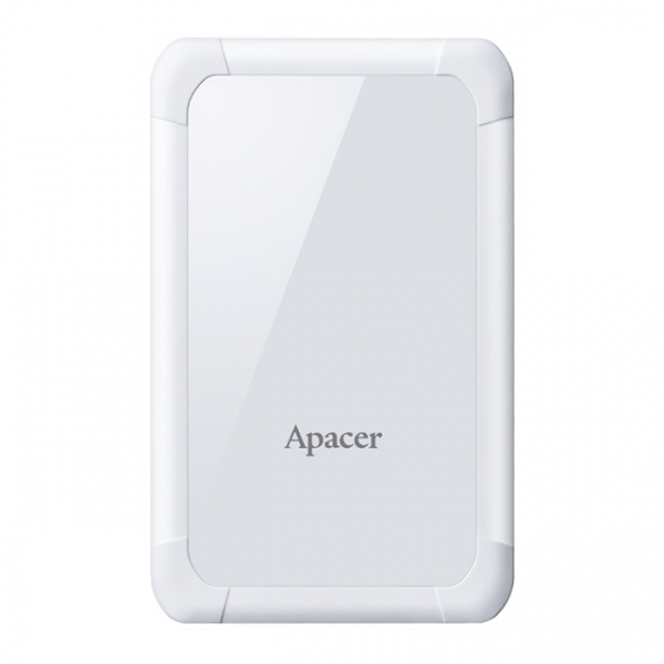 "Hard disk 2.5"" 1TB USB3.1, rezistent la socuri 1m, alb, Apacer 0"