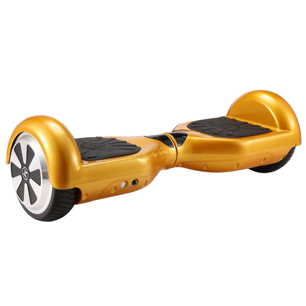 Hoverboard Electric , Megawheels, Auriu / Gold , Autonomie 15 km, Viteza max. 10km/H 5