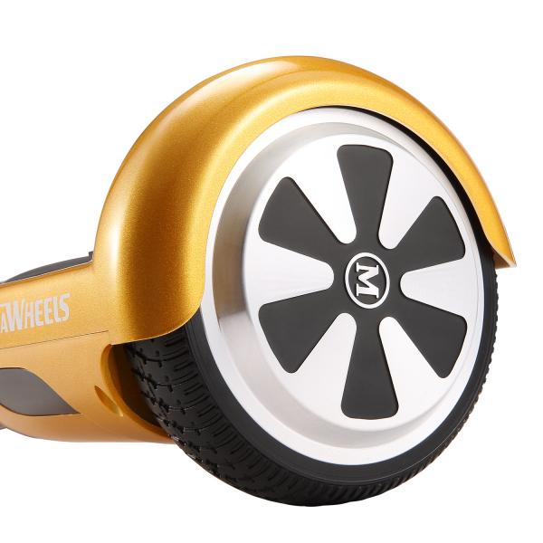 Hoverboard Electric , Megawheels, Auriu / Gold , Autonomie 15 km, Viteza max. 10km/H 3