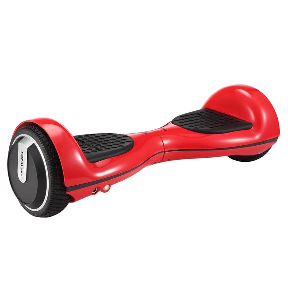 Hoverboard Electric , Megawheels, Rosu, Autonomie 15 km, Viteza max. 10km/H 4