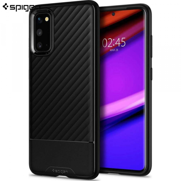 Carcasa Pentru Samsung Galaxy S20 Ultra Spigen Core Armor™️, Negru 0