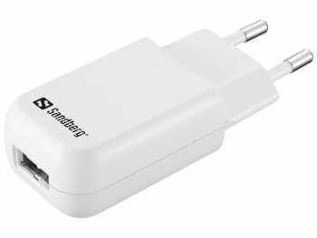 Incarcator retea Sandberg 440-56, USB 1A, alb [0]