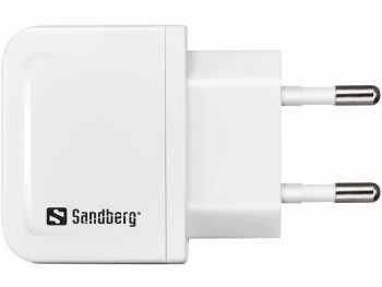 Incarcator retea Sandberg 440-59, Micro USB 1A, alb [1]