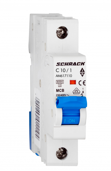 Intrerupator automat Schrack AMPARO AM617110--, 6kA, 10A, 1pol 0