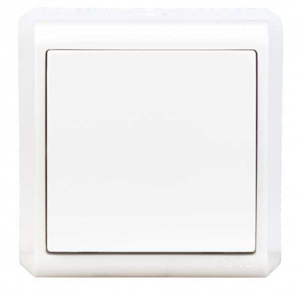 Intrerupator simplu Schrack Visio50 EV310001 aparent alb cleme cu surub 0