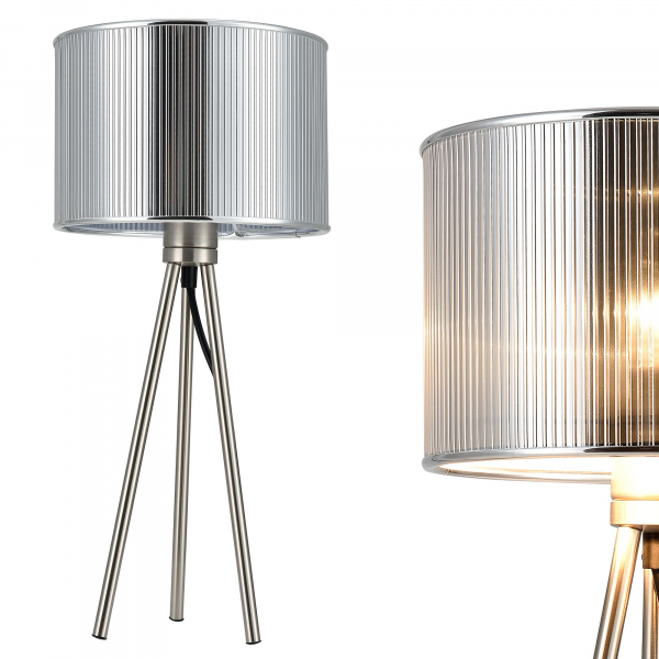 [lux.pro]® Lampa eleganta de masa – veioza - Berlin / 1 x E14 1