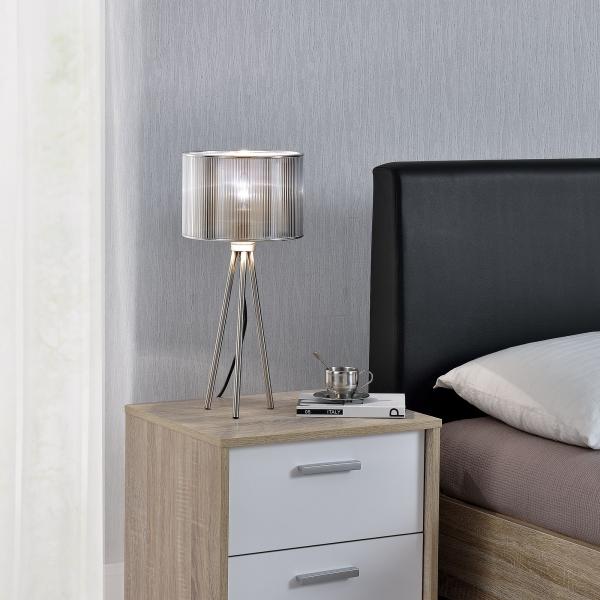 [lux.pro]® Lampa eleganta de masa – veioza - Berlin / 1 x E14 2