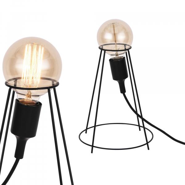[lux.pro]® Lampa de masa - design- Sydney - lampa design industrial - 26cm 2