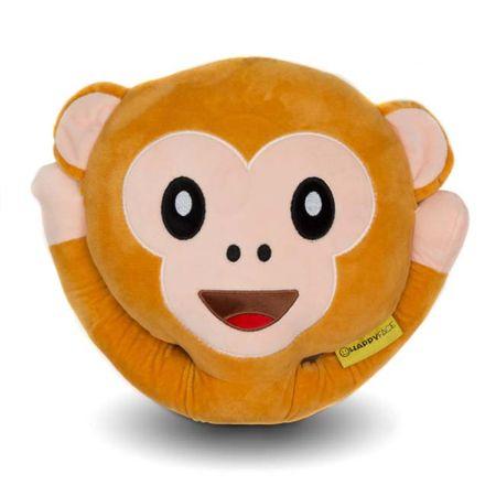 Perna decorativa Emoji Maimuta Happy Face 0