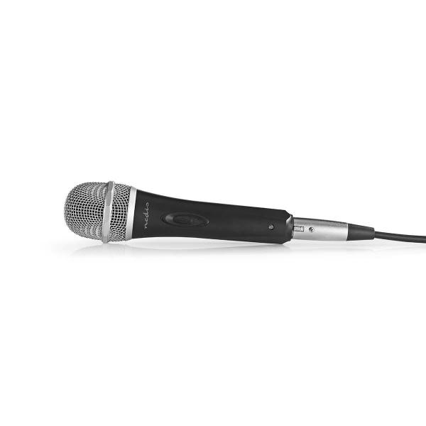 Microfon cu fir Nedis 6.35mm -72dB cablu 5m 0