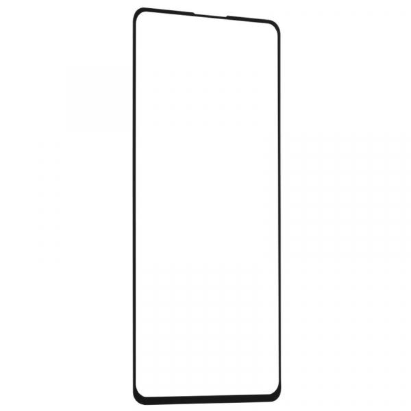 Folie Sticla de Protectie Tempered Galss Pentru Huawei P40, Negru, Mocolo [3]