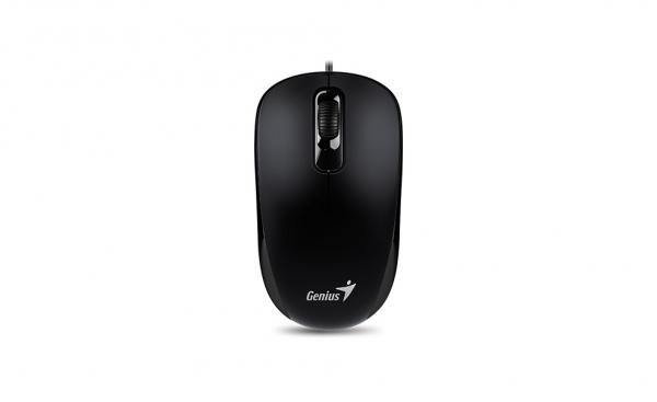 Mouse optic Genius DX-120, 1000dpi, USB, negru [0]