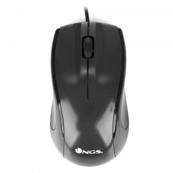 Mouse USB 1000 dpi negru Ngs 0