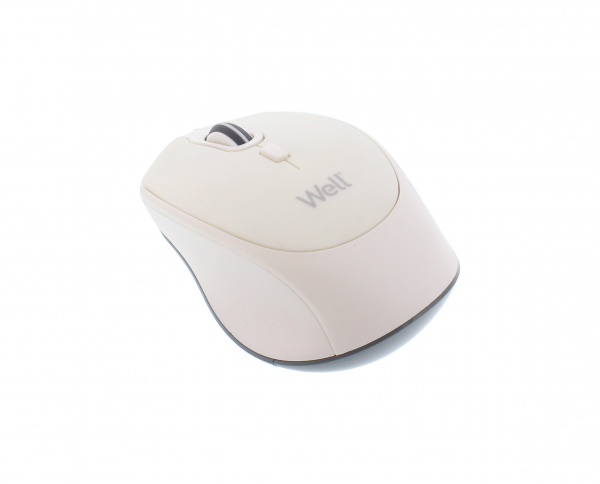 Mouse wireless Well MWP201 alb 0