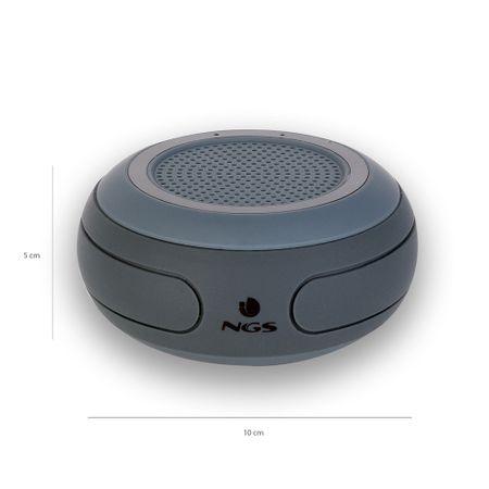 Boxa portabila cu Bluetooth rezistenta la apa negru Roller, NGS 2