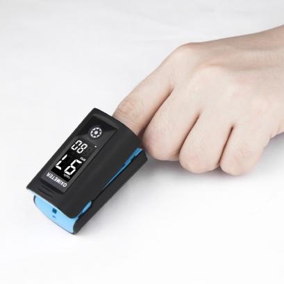 Pulsoximetru profesional pentru deget masurare nivel saturatie oxigen sange + puls 2