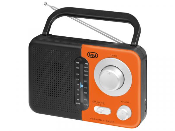 Radio AM/FM RA 768 S, portocaliu/negru Trevi [0]