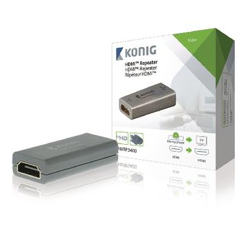 Repetor HDMI pana la 20m, Konig 0