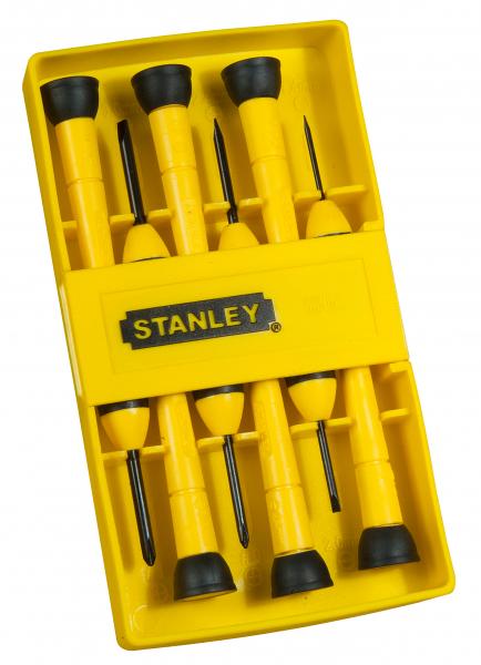 Set 6 surubelnite de precizie, 0-66-052 Stanley [0]